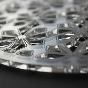 Laser Cut Acrylic Coaster